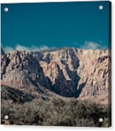 Blue Sky Over Red Rock Acrylic Print