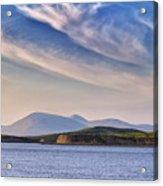 Blue Sky Over The Bay Acrylic Print