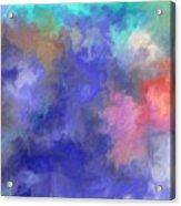 Blue Sky Painting Acrylic Print