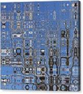 Blue Sky Quilt Acrylic Print
