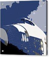 Blue Sky Shuttle Acrylic Print by David Lee Thompson
