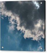 Blue Sky Solar Eclipse Acrylic Print
