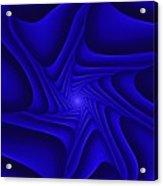 Blue Slide Acrylic Print