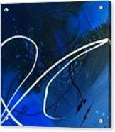Blue Speed Acrylic Print