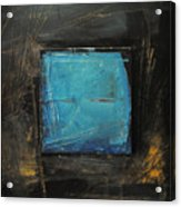 Blue Square Acrylic Print