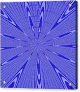 Blue Star Janca Abstract Acrylic Print