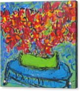 Blue Still Acrylic Print