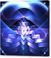 Blue Summit Acrylic Print