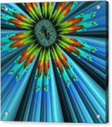 Blue Sun Acrylic Print