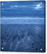 Blue Sunrise Acrylic Print