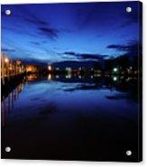 Blue Sunset Acrylic Print