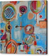 Blue System Acrylic Print
