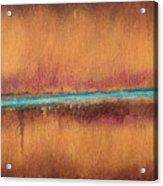 Blue Tear Acrylic Print