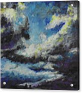 Blue Tempest Acrylic Print