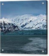 Blue Tidewater Glacier  Acrylic Print
