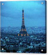 Blue Tower Acrylic Print