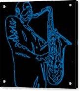Blue Trane Acrylic Print