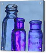 Blue Trio Acrylic Print