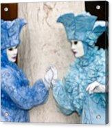 Blue Twins Acrylic Print