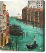 Blue Venice Acrylic Print