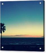 Blue View Acrylic Print