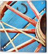 Blue Wagon 2 Acrylic Print