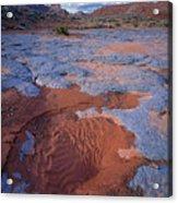 Blue Wash Acrylic Print