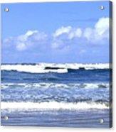 Blue Waters Acrylic Print