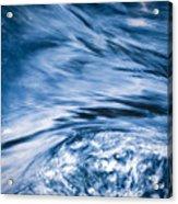 Blue Wave Water Acrylic Print