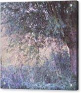 Blue Willow. Monet Style Acrylic Print