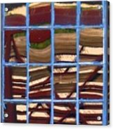 Blue Window 2 Acrylic Print
