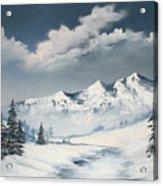 Blue Winter Acrylic Print