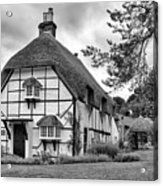 Bluebell Cottage Micheldever Acrylic Print
