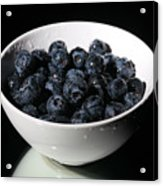 Blueberries Acrylic Print by Michael Ledray