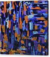 Blueberry Cobbler Acrylic Print