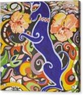 Blueberry Dog Acrylic Print