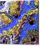 Blueberry Mash Acrylic Print