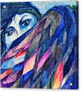 Bluebird Of Happiness. Acrylic Print