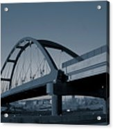 Blued Bridge Acrylic Print
