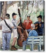 Bluegrass In The Park Acrylic Print