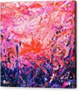 Bluegrass Sunrise - Rose A-left Acrylic Print