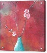 Bluegreen Vase Acrylic Print