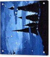 Bluenight Acrylic Print