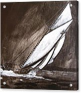 Bluenose At Night Going Acrylic Print
