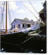 Bluenose II At Historic Properties Halifax Nova Scotia Acrylic Print
