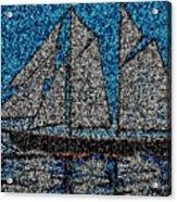 Bluenose II Acrylic Print