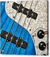 Blues Bass Acrylic Print