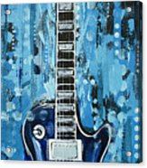 Blues Guitar Acrylic Print
