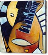 Blues Guitar Acrylic Print