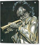 Blues Miles Acrylic Print